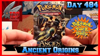 Pokemon Pack Daily Ancient Origins Booster Opening Day 484 - Featuring TBPGaming by ThePokeCapital