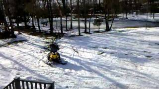 7. Snow Mobile Fun