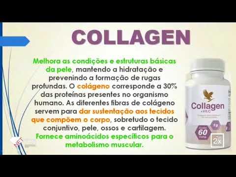 Peso ideal - Colágeno hidrolisado com vitamina C forever living