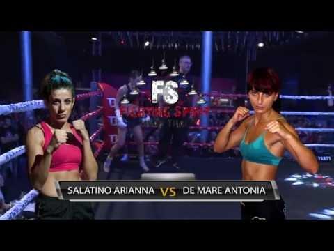 Fighting Spirit - Arianna Salatino Vs Antonia De Mare (видео)