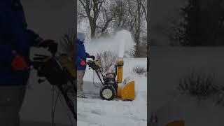 1. Cabcadet 2x snowblower review