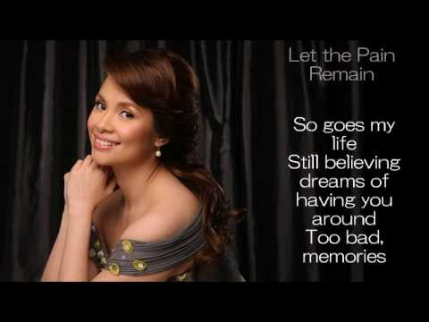 Tekst piosenki Lea Salonga - Let The Pain Remain po polsku