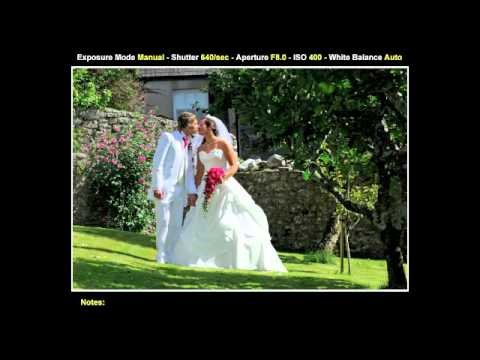 behind the scenes Photography - a behind the scenes video following award winning wedding photographer David Purslow while he shoots - with examples and setting information. - www.shutupand...
