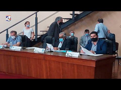 Nicolás Olivera participó en la primera Sesión Plenaria del Congreso de Intendentes del presente periodo