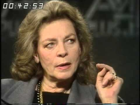 Lauren Bacall - Interview - Afternoon plus 4 - 1985