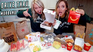 epic drive thru mukbang...aka so much fast food! vlogmas day 11 by Alisha Marie Vlogs
