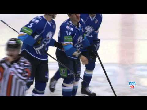 Бой КХЛ: Грэттон VS Свитов / KHL Fight: Svitov beats Gratton (видео)