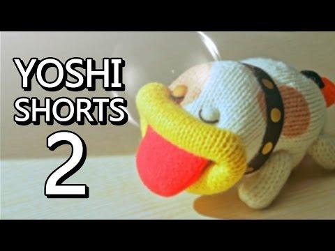 Poochy & Yoshi's Woolly World - ALL Yoshi Shorts PART 2