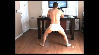 Man Baby Dancing To Beyonce, RESPONSE To Baby Dancing Original
