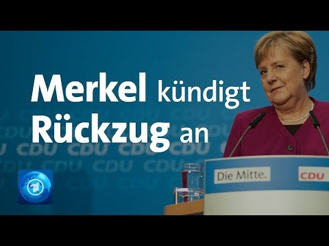 LIVE: Merkel zu CDU-Parteivorsitz und Kanzlerschaft