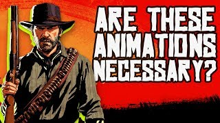 Is Red Dead Redemption 2's Animation Too Slow? - New Frame Plus