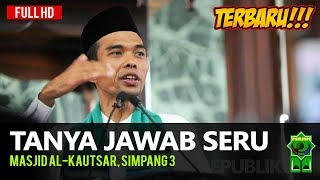 Video Tanya Jawab Seru Terbaru Ustadz Abdul Somad di Masjid Al-Kautsar Simpang 3 MP3, 3GP, MP4, WEBM, AVI, FLV Januari 2019