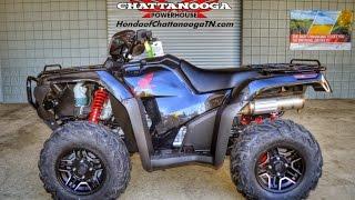 9. 2015 Foreman Rubicon Deluxe Start Up Video - Honda of Chattanooga TN ATV Dealer