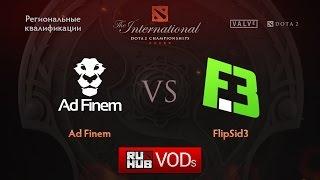 Flip.Sid3 vs Ad Finem, game 1