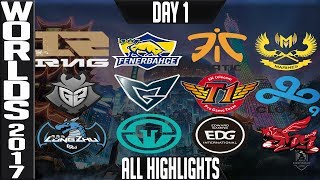 Video Worlds 2017 Highlights ALL GAMES Day 1 Groups - ALL Kills & Objectives Day 1 Worlds 2017 Highlights MP3, 3GP, MP4, WEBM, AVI, FLV Juni 2018