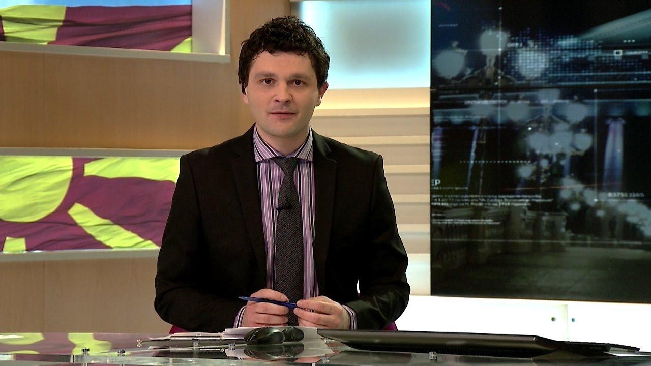 Оливер Андонов гостин во вестите во 18 часот на ТВ Нова