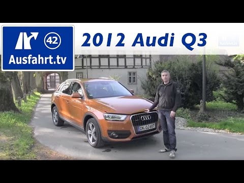 2012 Audi Q3 2.0 TDI quattro – Probefahrt / Fahrbericht / Test / Review