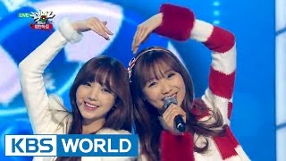 Lovelyz (러블리즈) - Must Have Love / For You (그대에게) [Music Bank Christmas Special / 2015.12.25]