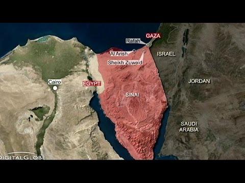 Plus de 60 morts dans des attaques de l'EI contre l'armée égyptienne