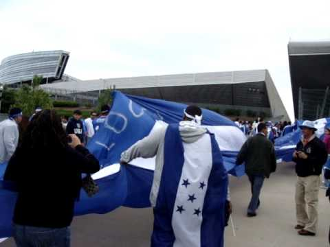 Bandera de Honduras from Honduras vs USA