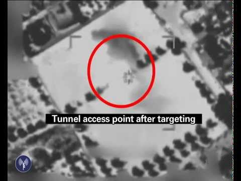 tunnel - On July 21, an IDF aircraft struck a major Hamas tunnel in Gaza. The airstrike triggered several secondary explosions, proving that the tunnel was filled with weapons and explosives. Hamas...