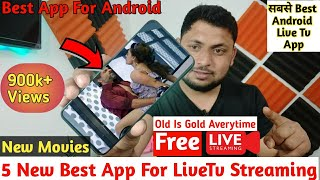 Video Top 5 Best Secret Live TV Android Apps 📺 (Not available in Playstore) November 2017 MP3, 3GP, MP4, WEBM, AVI, FLV Juli 2018