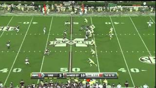 Matt Mccants vs Mississippi State 2010