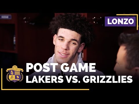 Video: Lonzo Ball On Kyle Kuzma, Brook Lopez, Mike Conley, Lakers Defense