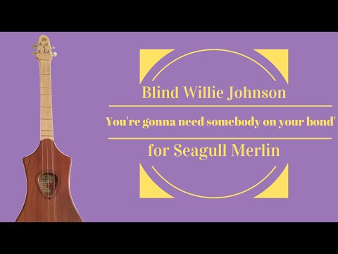 Blind Willie Johnson . 'You're gonna need somebody on your bond' for Seagull Merlin