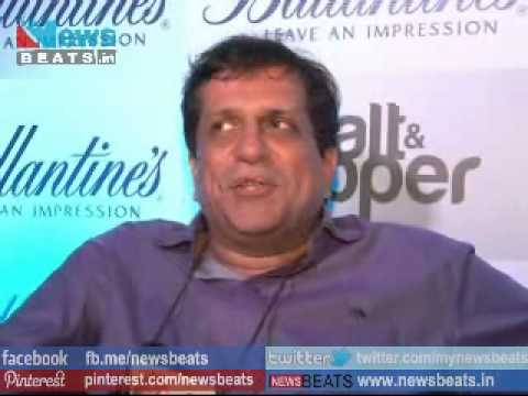 Darshan Zariwala - Comedy Bollywood Actor Darshan Jariwala at Ballentine Salt & Pepper Play Preview Party . Darshan Zariwala with Mandira Bedi and other stars cast at Ballentin...