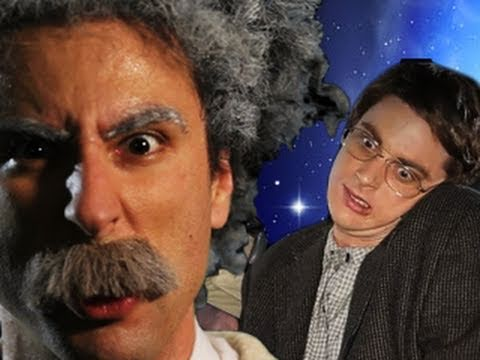 Einstein vs Stephen Hawking rap battle