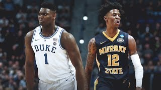 Zion Williamson and Ja Morant Take Over First Weekend of 2019 NCAA Tournament