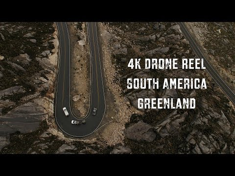 Epic DJI Drone Camera Video of South America and Greenland: Expedition Overland