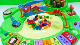 In The Night Garden GUMBALL Run Activity Table Toy with Kitty!