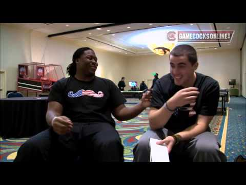 Dylan Thompson Interview 12/30/2013 video.