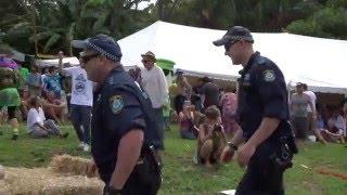 Nimbin Australia  city photos : POLICE V's POLITE. MardiGrass