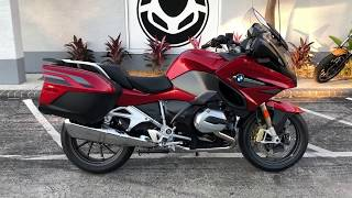5. 2018 BMW R 1200 RT Mars Red Metallic at Euro Cycles of Tampa Bay