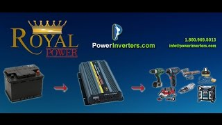 Using a dc to ac power inverters as a dc to ac converter. http://www.powerinverters.com/http://www.powerinverters.com/page/power-inverter-user-guidehttp://www.powerinverters.com/products?pg=allproducts
