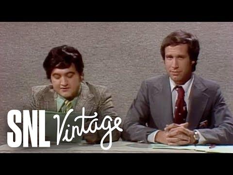Weekend Update: John Belushi on March Weather - SNL