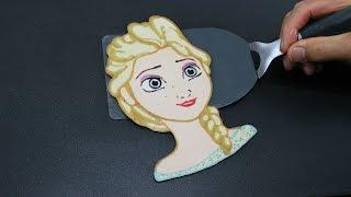Pancake Art - Elsa (Frozen | Frozen Fever | Disney Princess) by Tiger Tomato