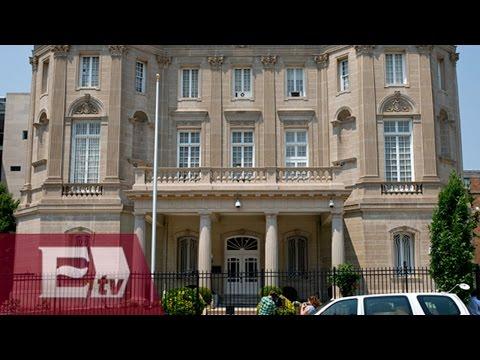 Se congratula México por apertura de embajadas en EU y Cuba