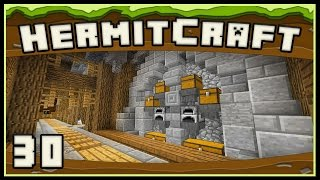 HermitCraft 4:   Furnace Room Design For The Survival Underground Base
