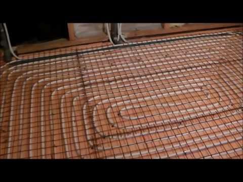 Водяной тёплый пол в деревянном доме ( весь пирог.