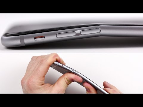 iPhone 6 plus bends!