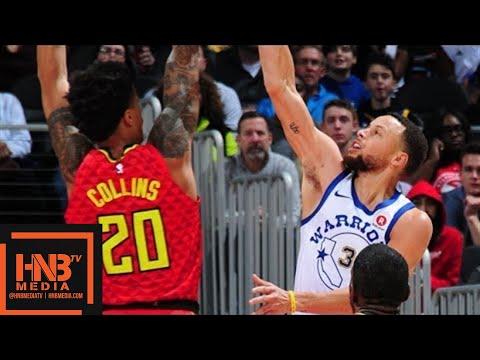 Golden State Warriors vs Atlanta Hawks Full Game Highlights / March 2 / 2017-18 NBA Season (видео)