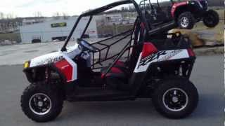 1. 2012 Polaris Ranger RZR 800 Walker Evans White/Black/Red LE at Tommy's MotorSports