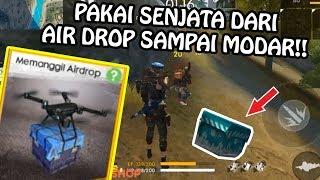 Video CHALLENGE PAKAI PEMANGGIL AIR DROP SAMPAI MATI!! (FREE FIRE INDONESIA) MP3, 3GP, MP4, WEBM, AVI, FLV Desember 2018