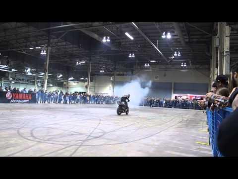 """Trick Riding Demonstration by Nick """"Apex"""" Brocha and Ernie """"EDub"""" Vigil."""