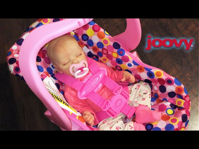 pink joovy toy car seat unboxing wit. Black Bedroom Furniture Sets. Home Design Ideas