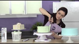 Use this WILTON Icing Smoother for your Cake